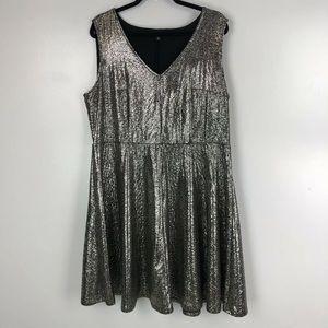 Torrid Sparkle Fit & Flare Dress